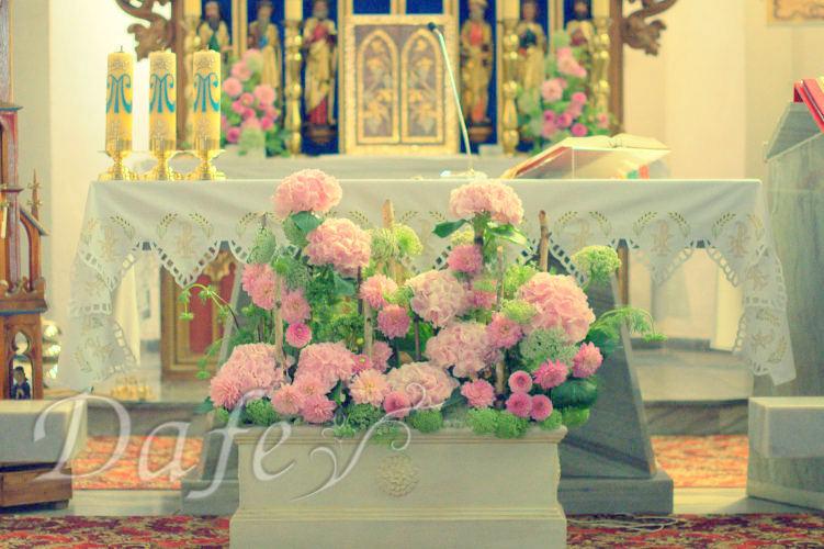 180_dekoracje_slubne_rozowa_hortensja_kosciol